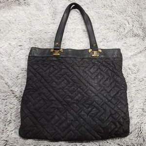 Tory Burch Bags - TORY BURCH Black Quilted Tote